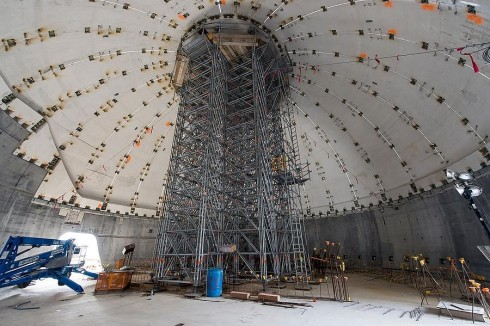 Layher-Scaffolding-Materials-at-the-Miami-Science-Museum-Inside-Dome-Strickland