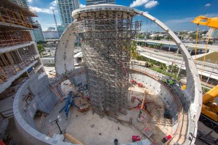 Layher-Scaffolding-Materials-at-the-Miami-Science-Museum-Layher-Shoring-Tower-V2
