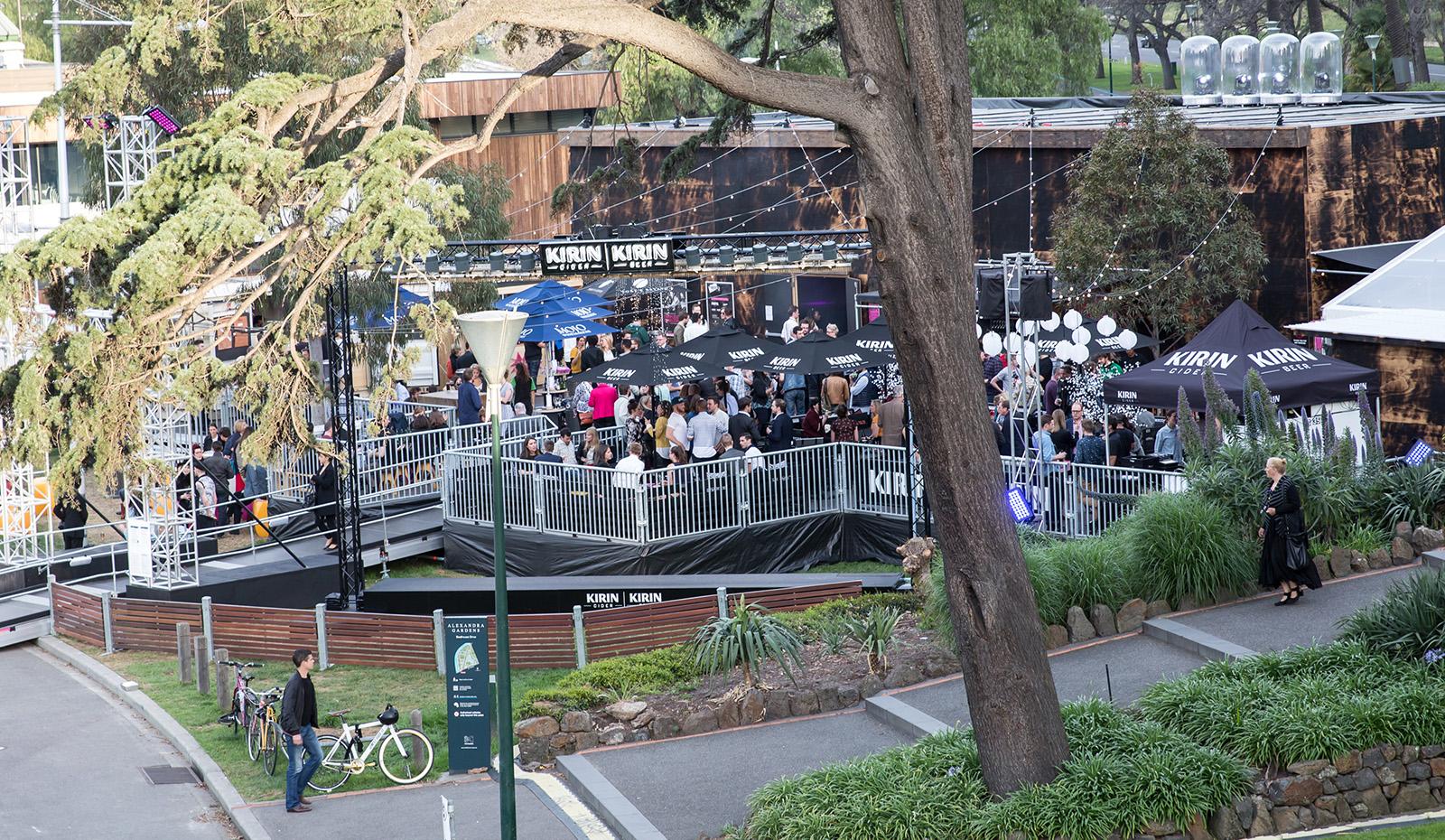 Layher Event rendszer a Melbourne Fesztiválon