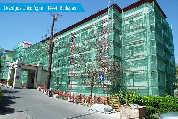PM_Felújítás_Országos Onkológiai Intézet_Budapest